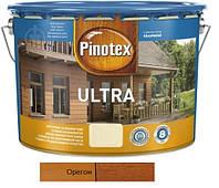 Водоотталкивающее лазурное деревозащитное средство Pinotex Ultra Lasur орегон 10л