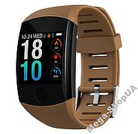 Смарт-часы Smart Watch Q11 Brown, спорт часы, умные часы, наручные часы, фитнес браслет, фитнес трекер