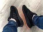 Чоловічі кросівки Adidas ZX500 RM (чорно-помаранчеві) KS 1484, фото 5