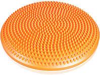 Балансировочная подушка LiveUp 33 см Orange (LS3226)