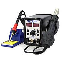 Паяльна станція Aida A-858D++ цифрова індикація,фен,паяльник (нагрівальний елемент Hakko)