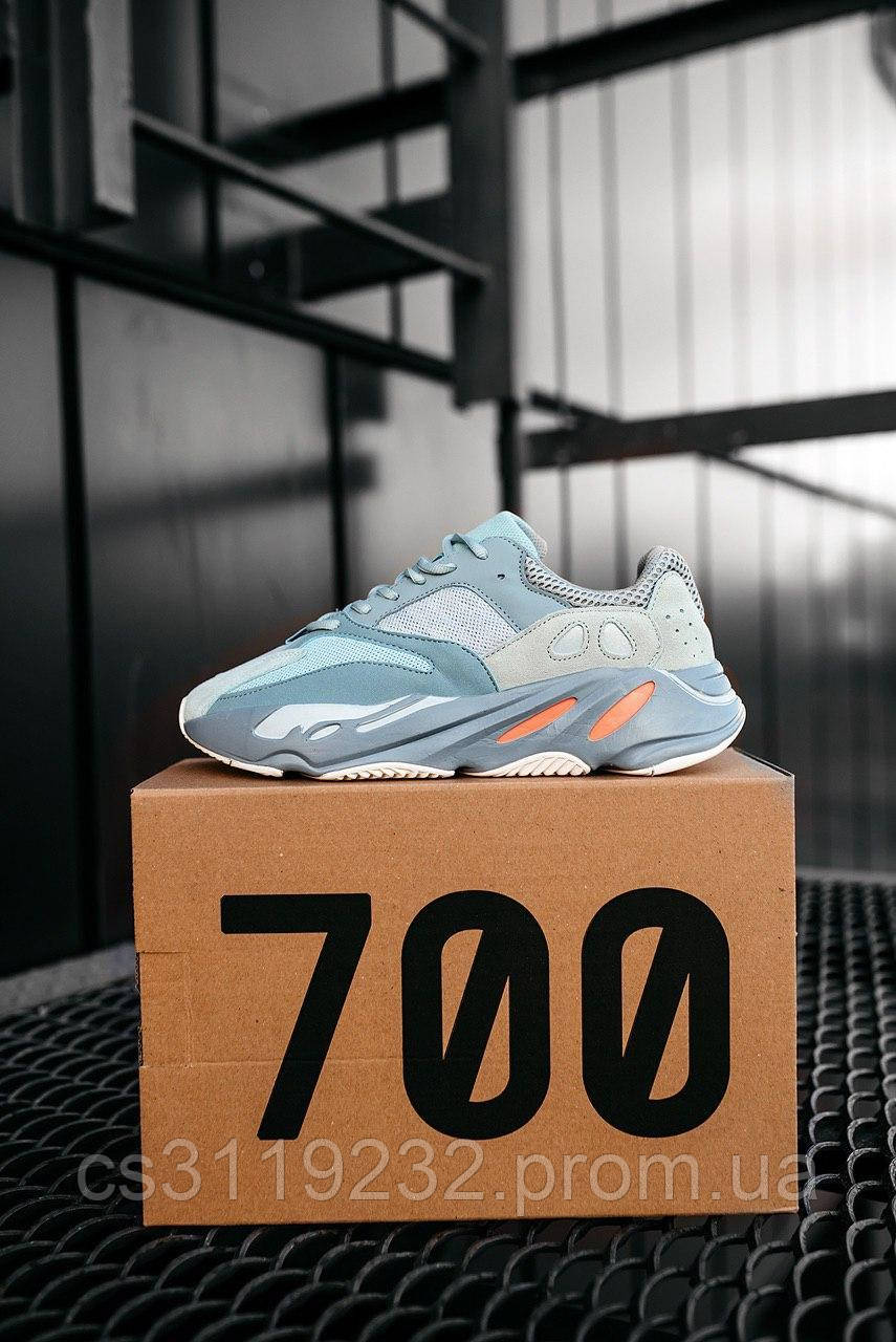 Жіночі кросівки Adidas Yeezy Boost 700 Inertia (сірі)