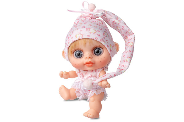 Кукла пупс Berjuan (Бержуан) БЭБИ БИГГЕРС (Beby Biggers) с запахом ванили 14 см (RUBIO)