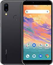 Смартфон Umidigi A3S цвет черный (экран 5,7 дюймов; памяти 2/16, акб 3950 мАч)