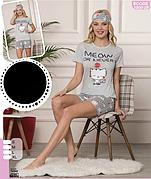 Пижамы женские - комплекты с шортиками ОПТОМ