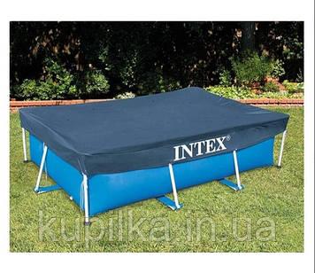 Тент - чехол для прямоугольного каркасного бассейна Intex 28038 (300*200 см)