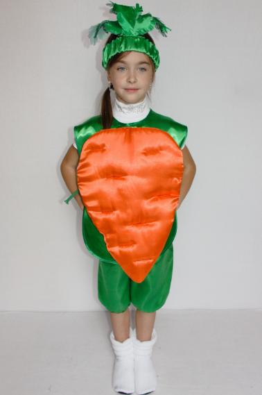 Костюм Моркови от 3 до 6 лет