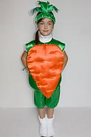 Костюм Моркови от 3 до 6 лет, фото 1