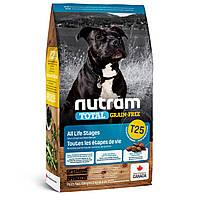 Корм Nutram(Нутрам)T25 Grain-Free Salmon & Trout без злаковый корм для собак всех пород (лосось и форель) 11,4