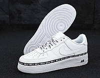 Мужские кроссовки Nike Air Force 1 '07 SE Premium White / Найк Аир Форс белые