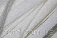 Шнур плоский тесьма акрил 10мм (100м) белый