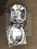 Хром накладки под дверные ручки (мыльницы) Skoda fabia I (шкода фабия) 1999-2007, фото 3