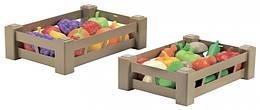 """Ящик с овощами (фруктами) """"Урожай"""" 2 вида, Ecoiffier 18м+ (000948)"""