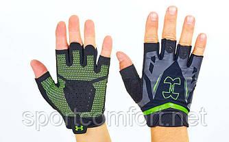 Перчатки для кроссфита и воркаута UAR WorkOut BC-6305 размер M-XL цвета в ассортименте