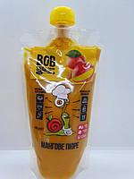Пюре Манго без сахара 400 грамм Bob Snail пастеризированное
