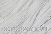 Шнур плоский тесьма акрил 15мм (50м) белый