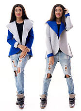 Женский пиджак с капюшоном неопрен , фото 2