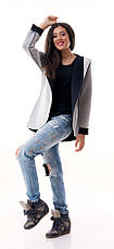 Женский пиджак с капюшоном неопрен , фото 3