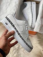 ✔️ Кроссовки мужские Nike Air Force 1 Low White Ribbon Pack - Найк Аир Форс Низкие