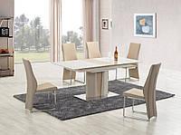 """Скляний стіл """"Cameron"""" від Halmar 150*90см, фото 1"""