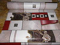 Виниловые обои Бегония 5674-13 супермойка длина рулона 15 м ширина 0.53м=5 полос по 3 м каждая