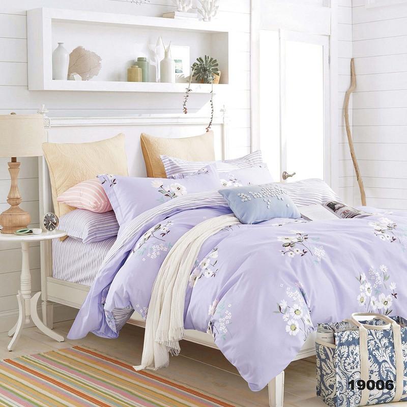 Полуторный Комплект постельного белья Viluta Ранфорс 19006