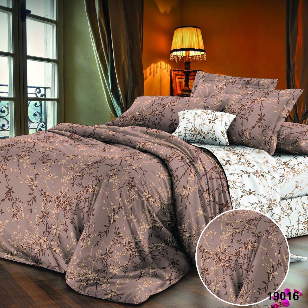 Полуторный Комплект постельного белья Viluta Ранфорс 19016