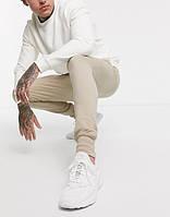 Мужские спортивные штаны Adidas (Адидас) Бежевые