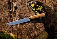 Кухонный нож с буковой рукоятью №6/1 , 40Х13, 27см