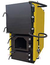 Котел твердотопливный, жаротрубный 400кВт с возможностью установки пеллетной горелки