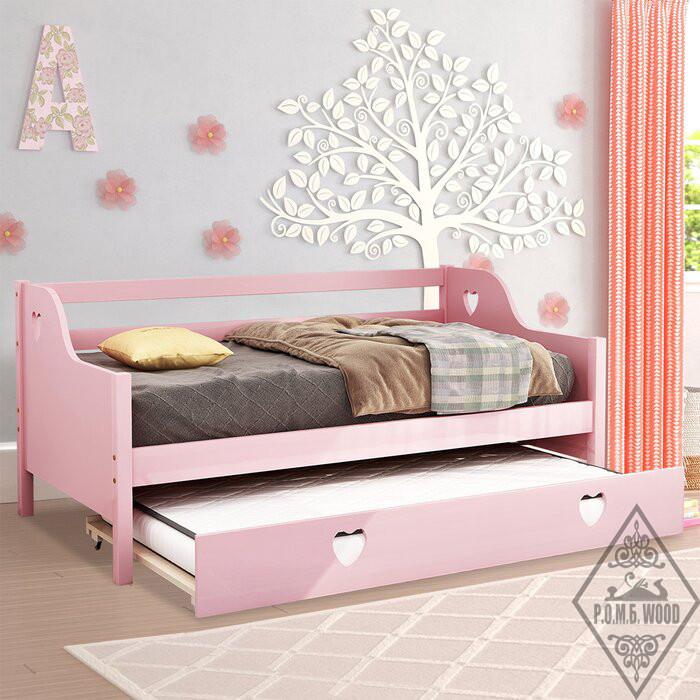 """Ліжко з додатковим спальним місцем """"Діана"""""""