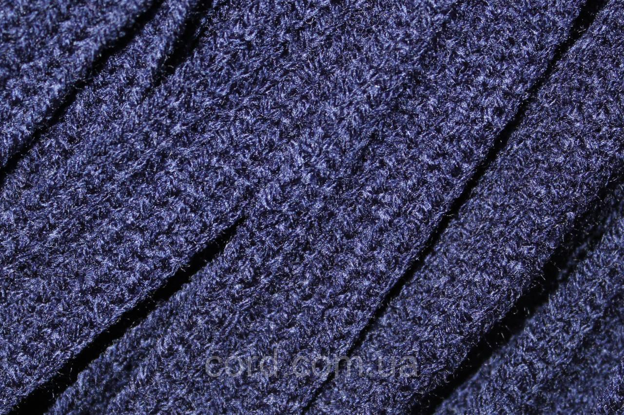 Шнур плоский тесьма акрил 15мм (50м) синий