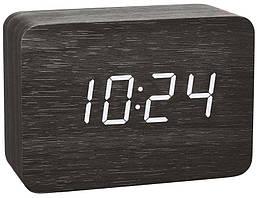 Цифровые часы с будильником TFA Clocco DCF-77 Black (60.2549.01)