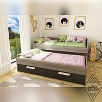 """Кровать с дополнительным спальным местом """"Лолита"""""""