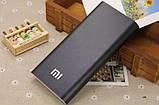 Повер банк Xiaomi 20800 mAh Power Bank Внешний Аккумулятор черный, фото 3