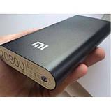 Повер банк Xiaomi 20800 mAh Power Bank Внешний Аккумулятор черный, фото 5