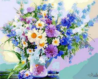 Картина по номерам Дыхание лета Q912  в коробке Mariposa 40х50см Цветы, фрукты, натюрморты, еда