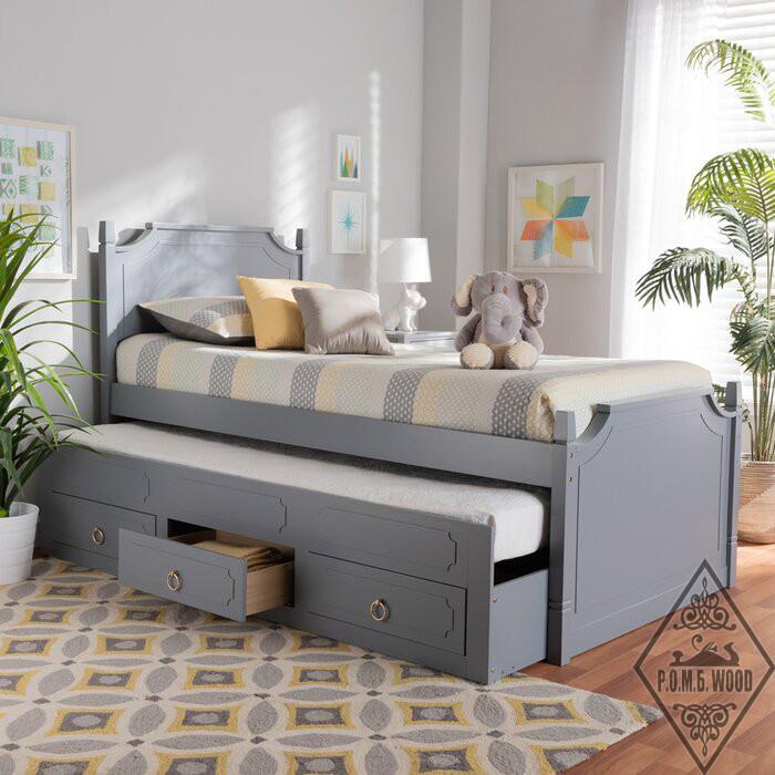 """Кровать с дополнительным спальным местом """"Руби"""""""