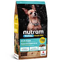 Сухой корм Nutram(Нутрам) T28 Mini без злаковый корм для собак мелких пород (лосось и форель) 5,4  кг
