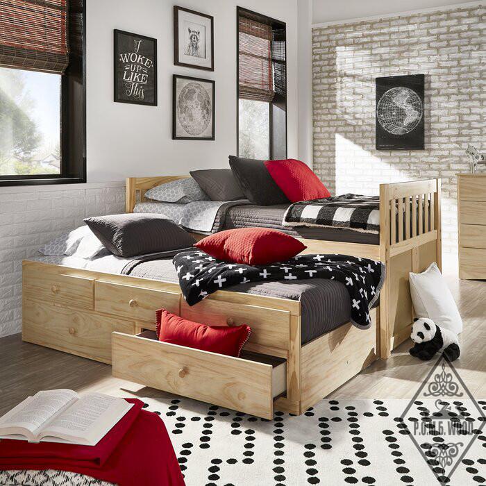 """Кровать с дополнительным спальным местом """"Спигнер"""""""