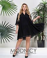 Модное платье  05224,2  Черный