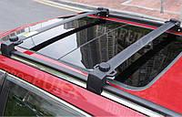 Поперечки багажник на рейлінги алюміній чорний 120см