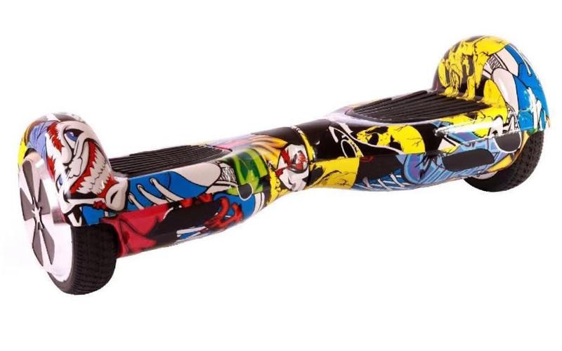 Гироборд Smart Balance 6,5 дюймов Гироскутер Цвет - Хип-хоп полная комплектация