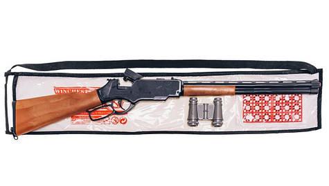 """Игрушечная винтовка 85см """"Винчестер"""" с пистонами и биноклем 248"""