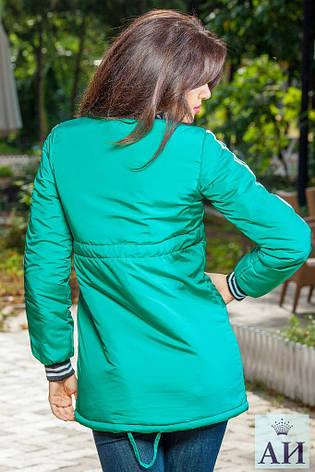 Стильная женская куртка с манжетами, фото 2