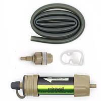 Переносной портативный фильтр для воды Miniwell L630 Зеленый 100132, КОД: 1455541
