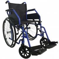Стандартна інвалідна коляска (синій), OSD-ST-**