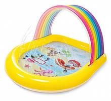 Детский надувной бассейн Intex 57156 Радуга