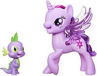 Набор My Little Pony Принцесса Твайлайт Спаркл и Дракончик Спайк My Little Pony Princess Twilight Sparkle Spik