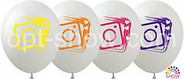 Воздушные шары Inatagram на белом TM Show